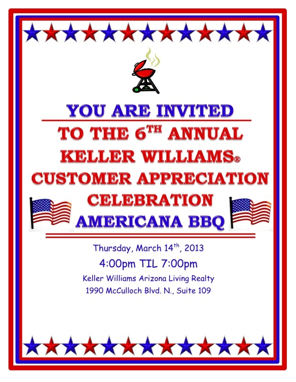Keller Williams Customer Appreciation Party Havasu