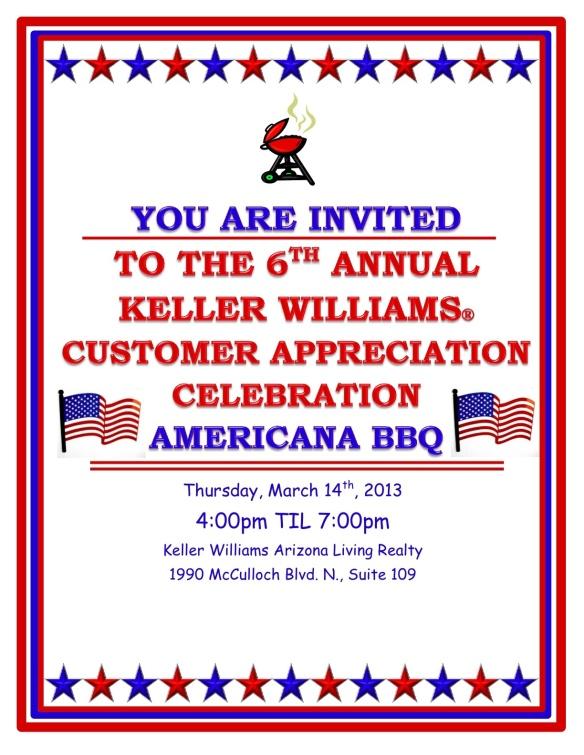 Keller Williams Customer Appreciation Party Havasu