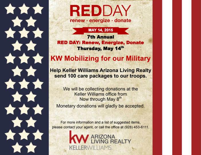 Keller Williams Lake Havasu RED Day