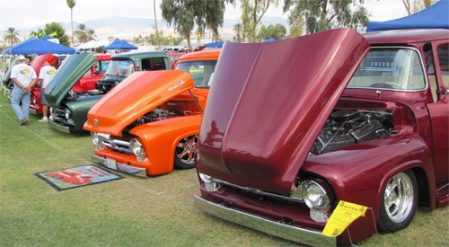 Relics & Rods Car Club's 38th Annual Run to the Sun Car Show