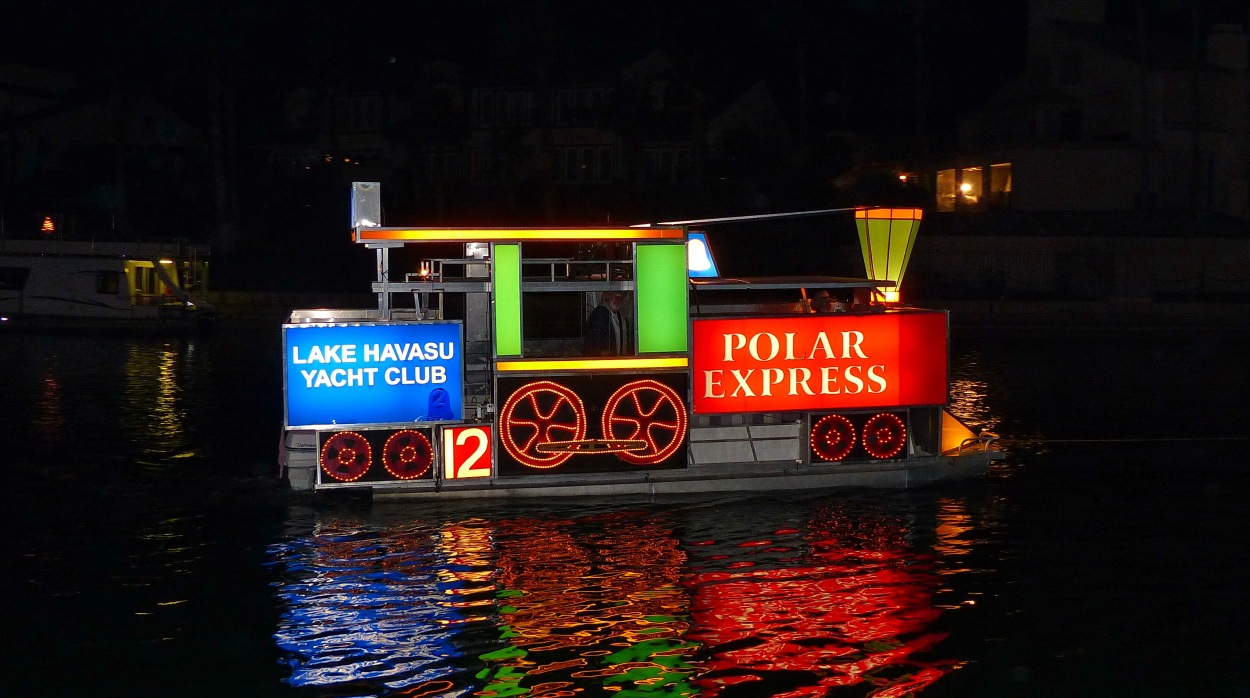 33rd Annual Boat Parade of Lights lake havasu