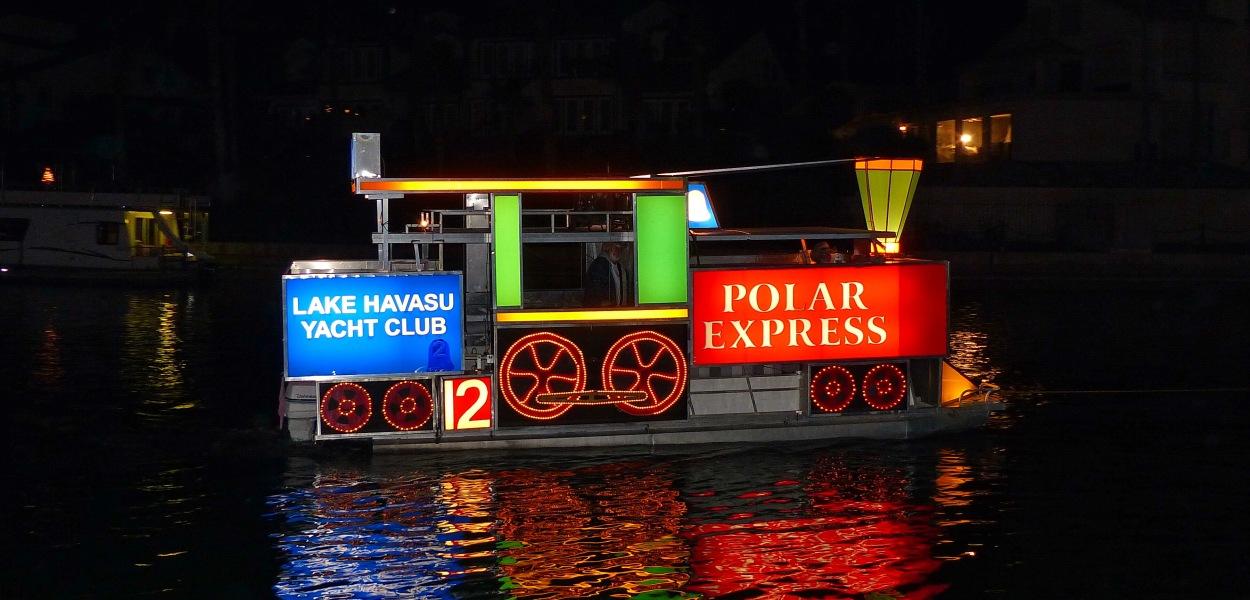 33rd Annual Boat Parade of Lights lake havasu