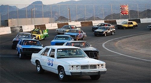 """Havasu 95 Speedway """"Snow Bird Appreciation"""" Race Season 2015-16"""