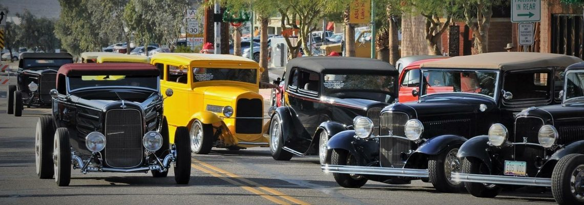 Havasu Deuces Annual 1932 Ford Car Show