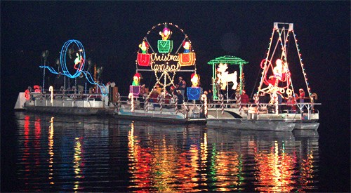 Welcome the 35th Yearly Boat Parade of Lights