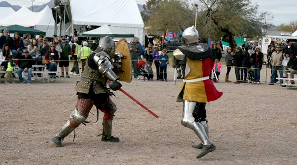 The Armored Combat League US Championship & London Bridge Renaissance Faire 2018