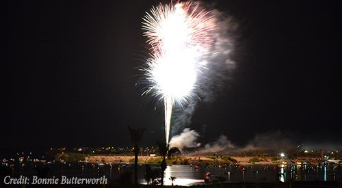 Lake Havasu July 4th Fireworks Show