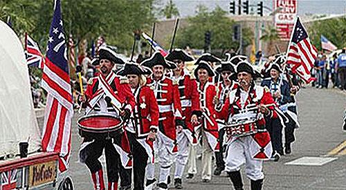 48th Lake Havasu London Bridge Days Parade