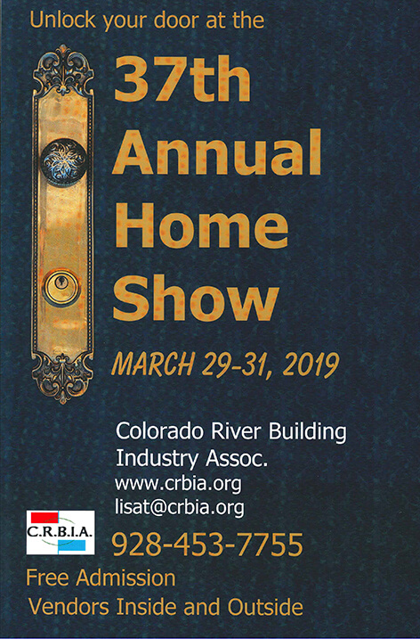 The CRBIA's annual Lake Havasu City Home Show | The 37th Edition 2019