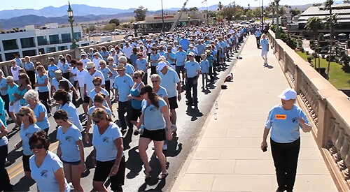 Lake Havasu's 8th Annual Line Dance on London Bridge