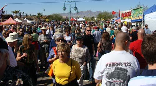 34th Annual Winterfest in Lake Havasu City, AZ