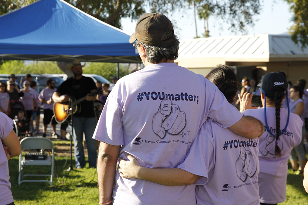 #YOUmatter 3.1 Miles Havasu City Awareness and Prevention Walk Against Suicide