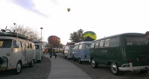 Buses by the Bridge Lake Havasu City Event