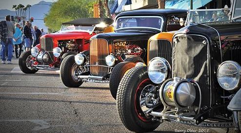 Havasu Deuces Downtown Cars Show