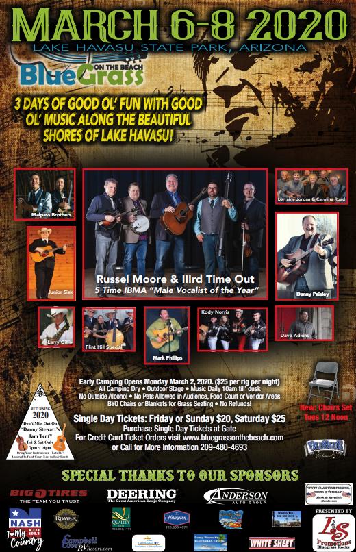 18th Annual Bluegrass on the Beach Music Festival